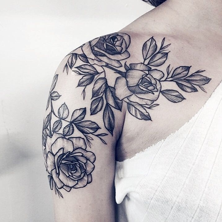 Pinterest Linell Shoulder Tattoos For Women Shoulder Tattoo Girls With Sleeve Tattoos