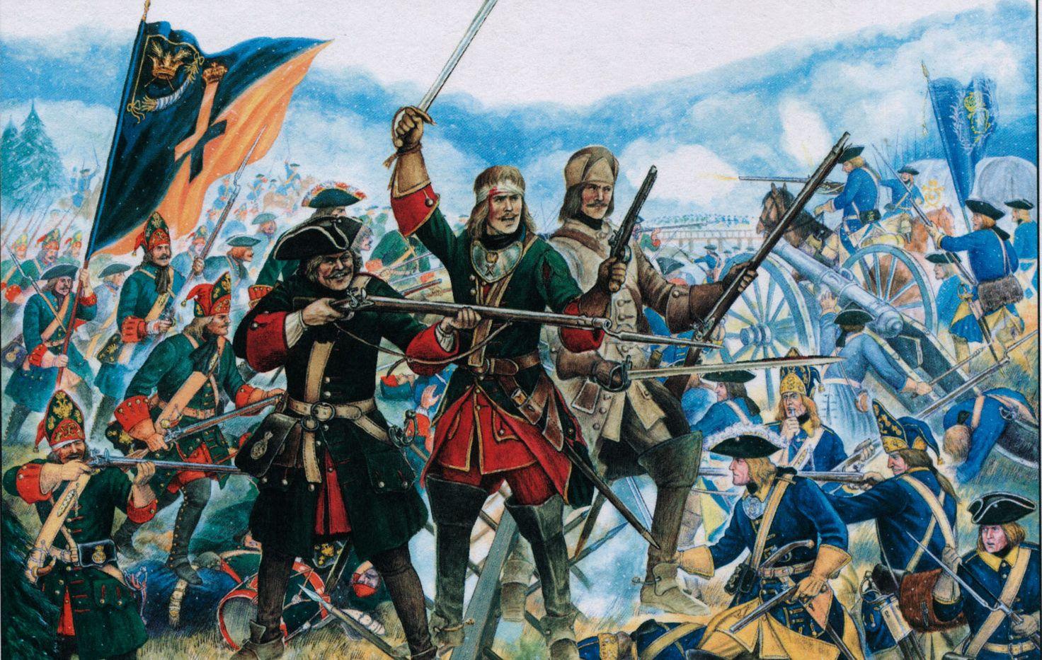 Battle of Poltava | Military art, War art, Art of fighting