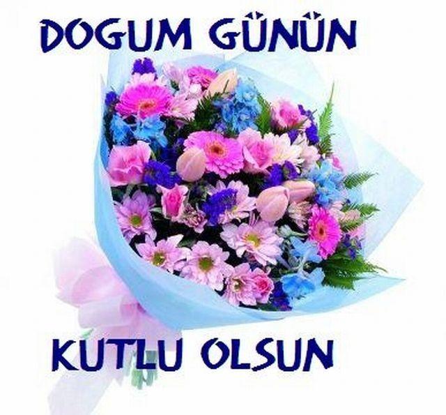 Поздравления с днем рождения на турецком языке в картинках