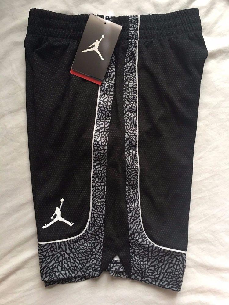 Nike Air Jordan Jumpman Boys Athletic Shorts Size S 65991ede2