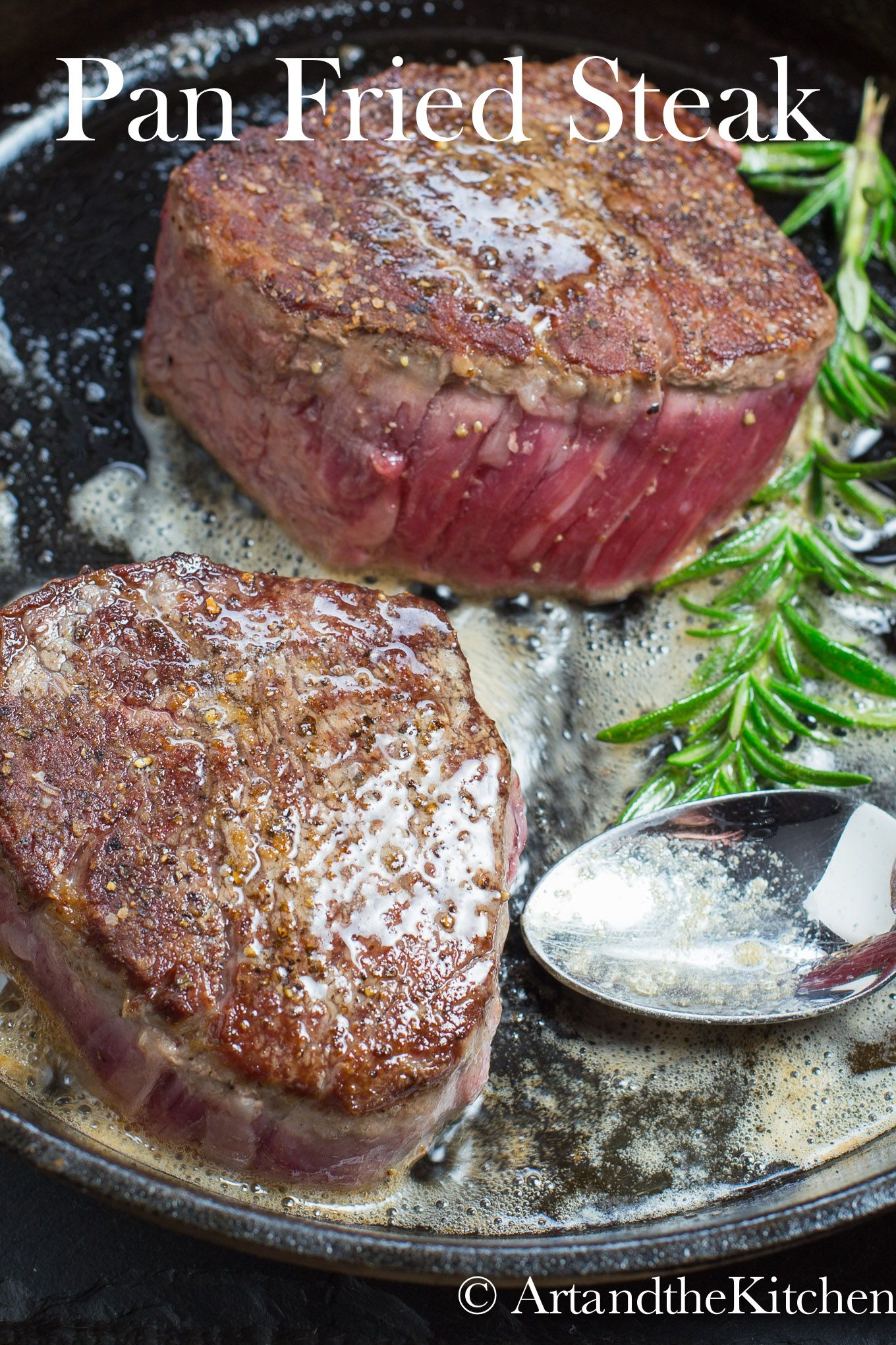 Photo of Simple Pan Fried Steak | Art and the Kitchen