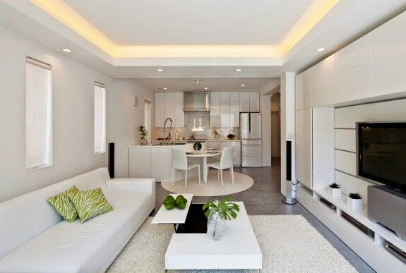 Great Layout For Long Narrow Condo Type Unit  My New Place Ideas Simple Zen Type Kitchen Design Inspiration Design