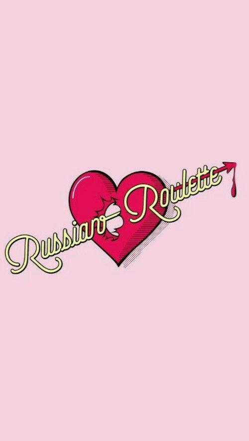Red velvet russian roulette wallpaper