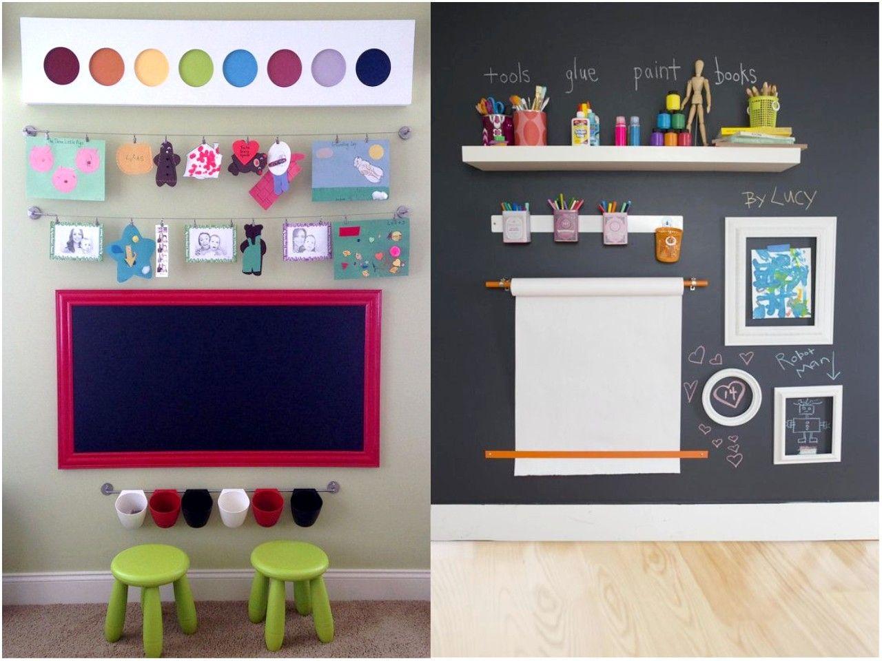 Resultado de imagen de decorar habitacion ni o pizarra - Pizarras para decorar ...