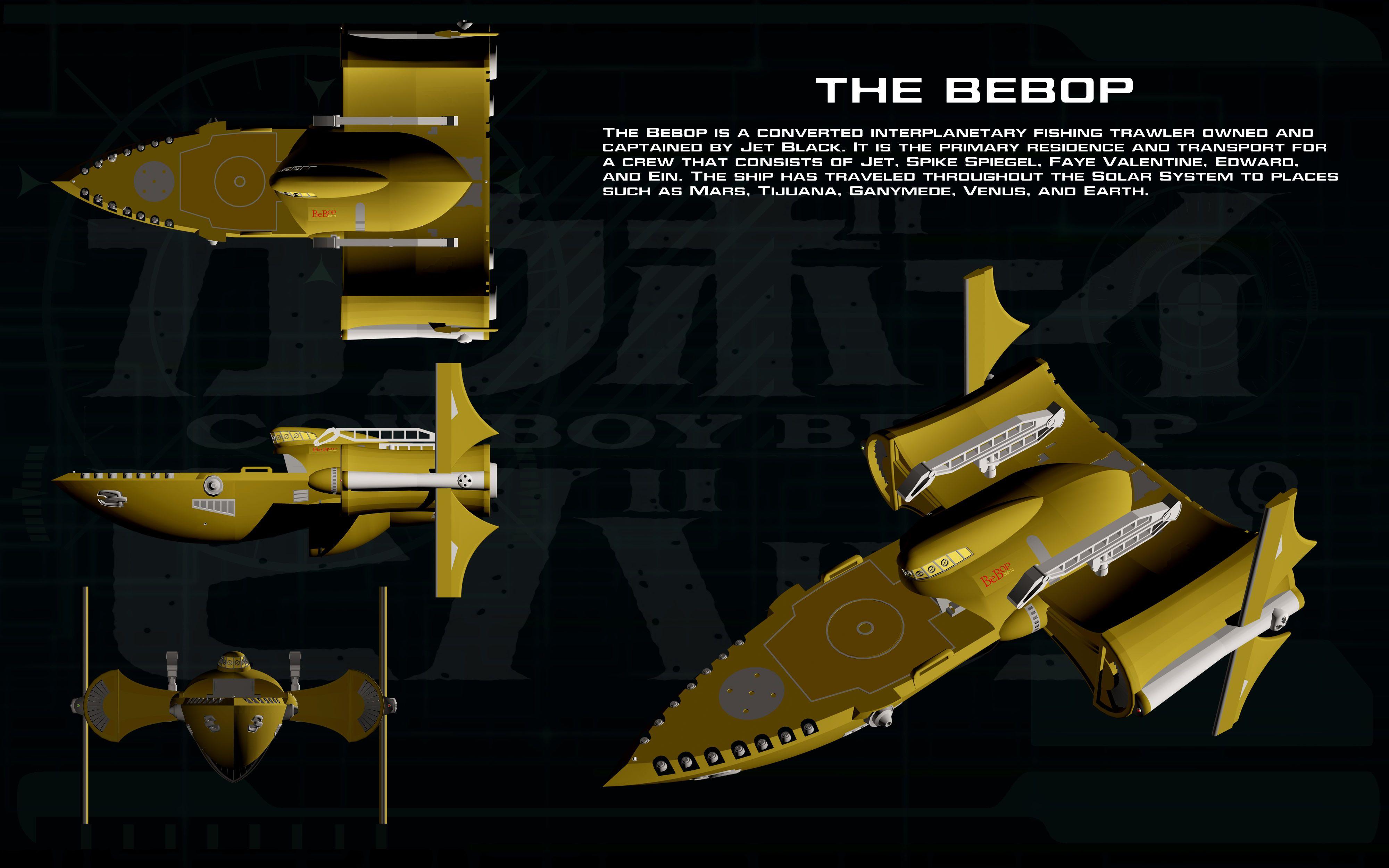 The Ships of Cowboy Bebop