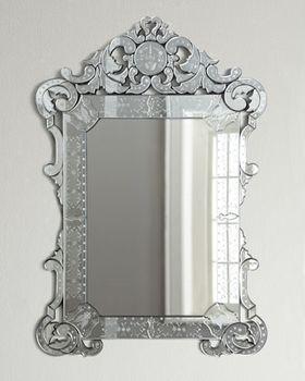 "#Silver ""Margaux"" #Mirror from @Neiman Marcus via Catalog Spree $760.00"