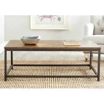 Bowden Metal Wrap Coffee Table #havenlylivingroom