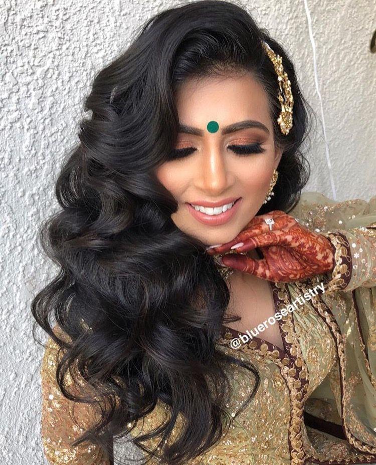 Pinterest pawank90 Bridal hair, makeup, Pakistani hair