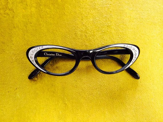 Dior Glasses Frames Cat Eye : Vintage Christian Dior Cat Eye Glasses #eyewear #etsy USD235 ...