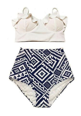 0947aca03e Diana Push Up High Waist Bikini (Plus Size) - Simply Paris Boutique ...