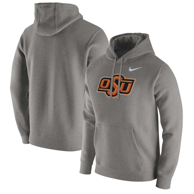 sports shoes 117fb 335a2 Oklahoma State Cowboys Nike Club Fleece Pullover Hoodie ...