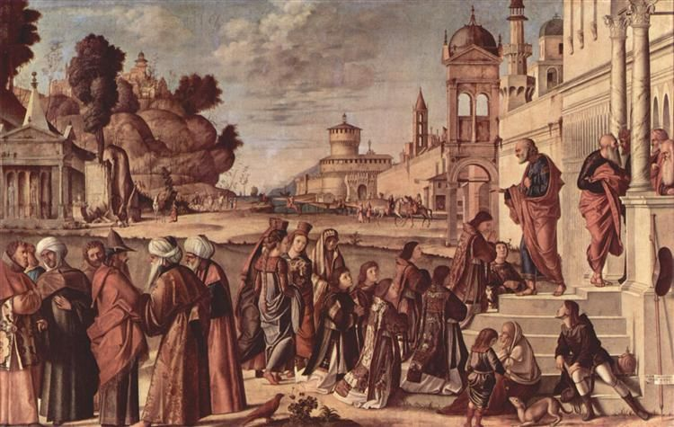 1514 St. Stephen is Consecrated Deacon - Vittore Carpaccio