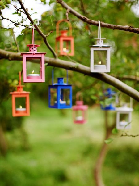 Mini Tealight Lanterns Nordic House