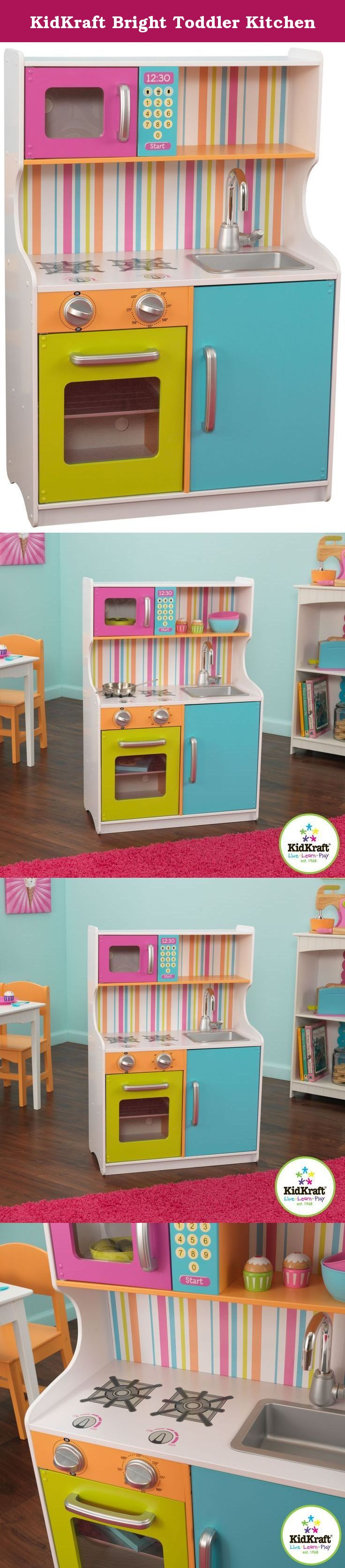 KidKraft Bright Toddler Kitchen. It\'s time to cook up a little m ...
