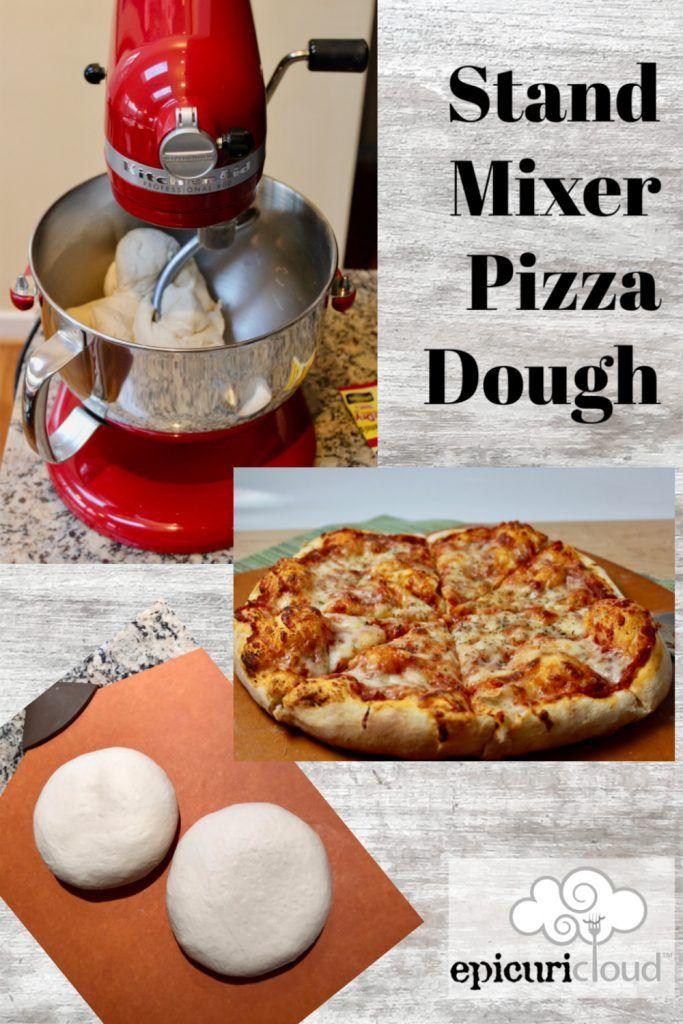 Stand Mixer Pizza Dough (Makes 2, 12-inch Pizzas) | epicuricloud (Tina Verrelli)