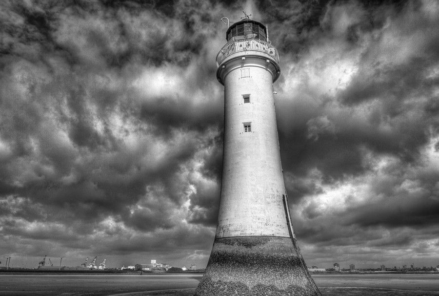 New Brighton Lighthouse by Chris Cheshire on 500px