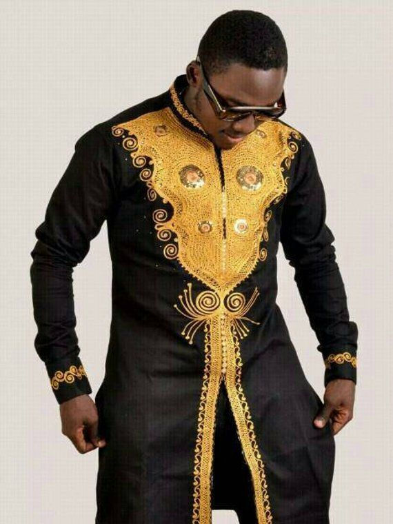 4ee165953 African Men's Clothing, dashiki,wedding suite, dashiki shirt, bespoke  dashiki, bespoke outfit,Africa
