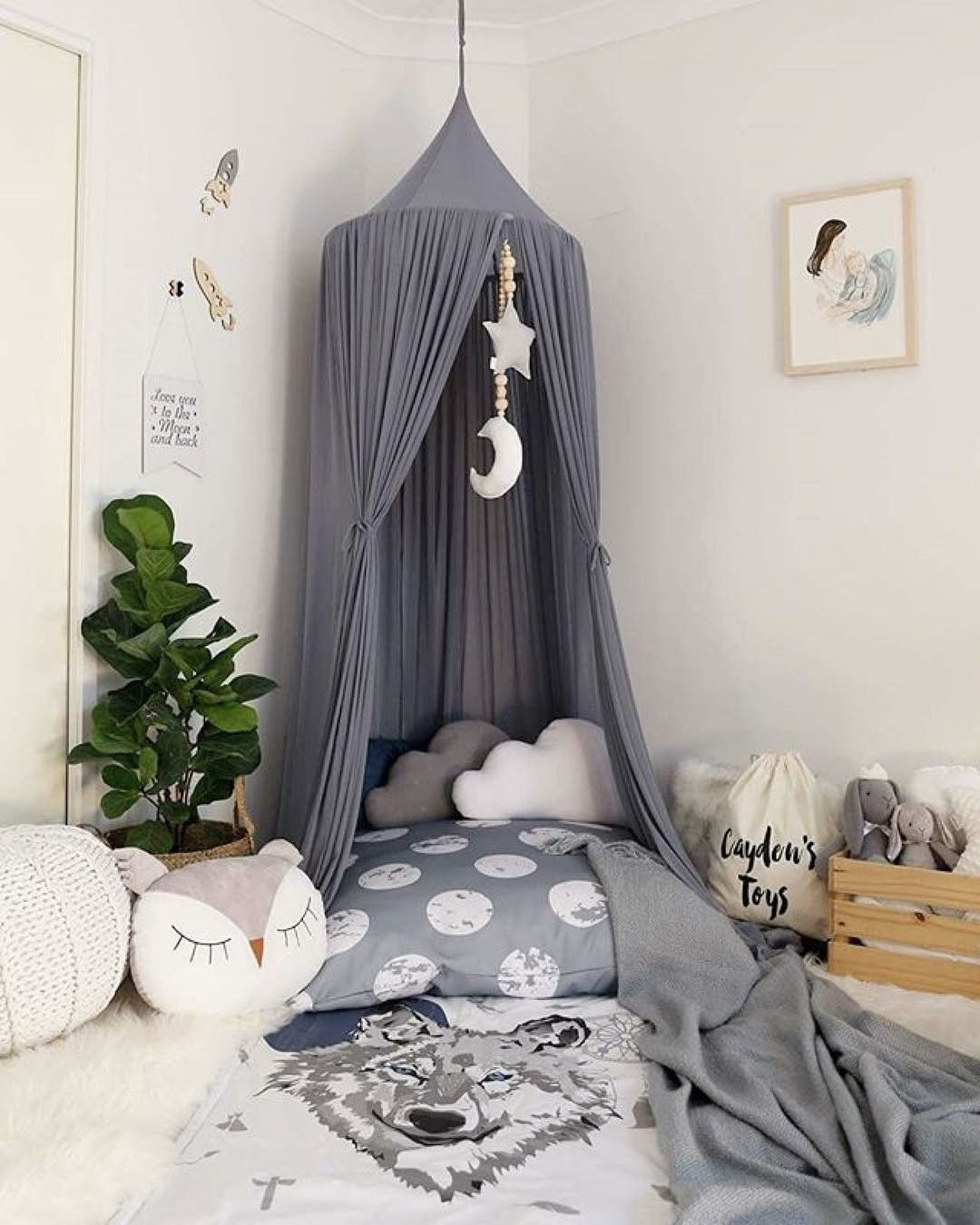 this lovely slate colour would be great for both boys and girls rooms my3ratbagz3614 i kidsinteriors_com kidsinteriors kidsinterior kidsroom