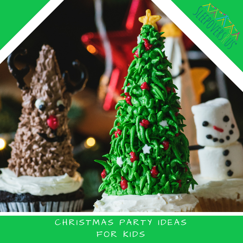 Christmas Party Ideas for Kids December birthday parties