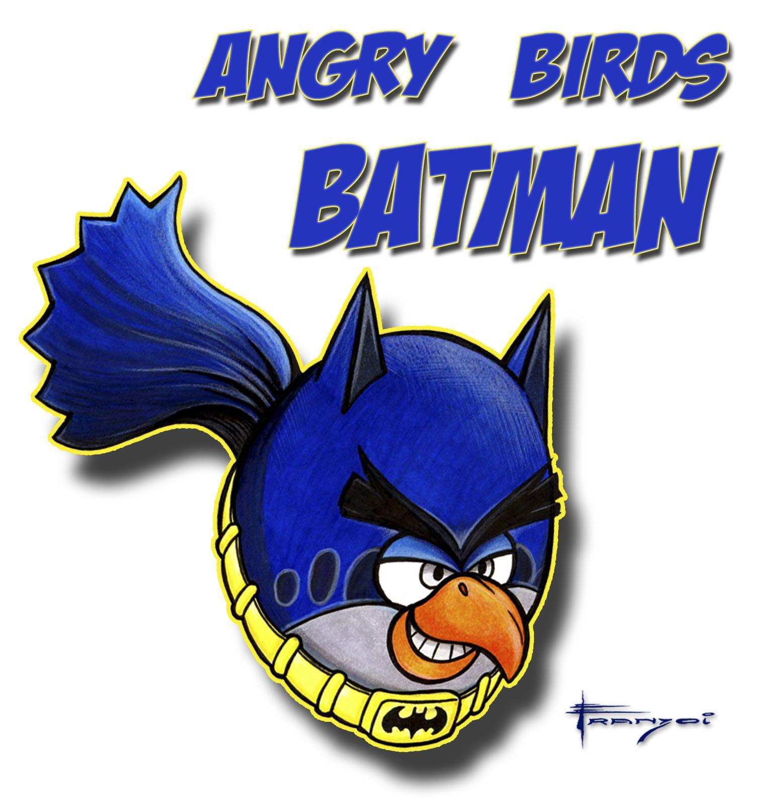 Angry Bird Batman - Assista ao vídeo de criação deste desenho em:  Vídeo 1: https://www.youtube.com/watch?v=0XY8TPjLNEo  Vídeo 2: https://www.youtube.com/watch?v=9kYj0k9yQBk