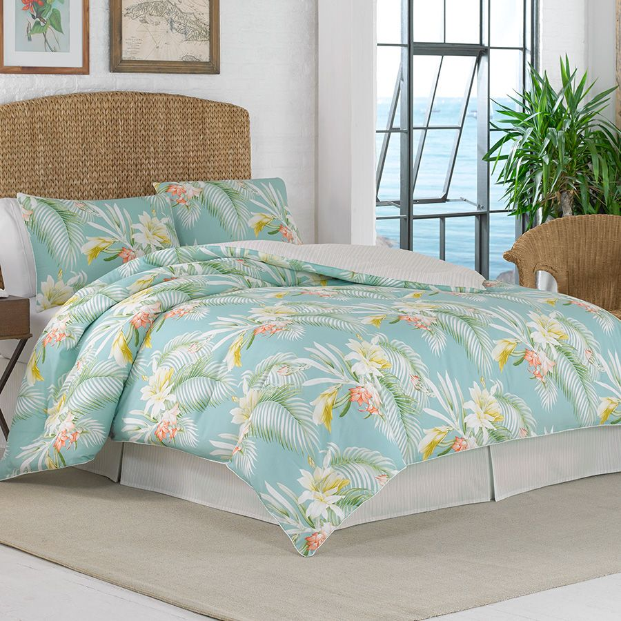 Tommy Bahama Beachcomber Citrus Comforter Set Tropical Bedding