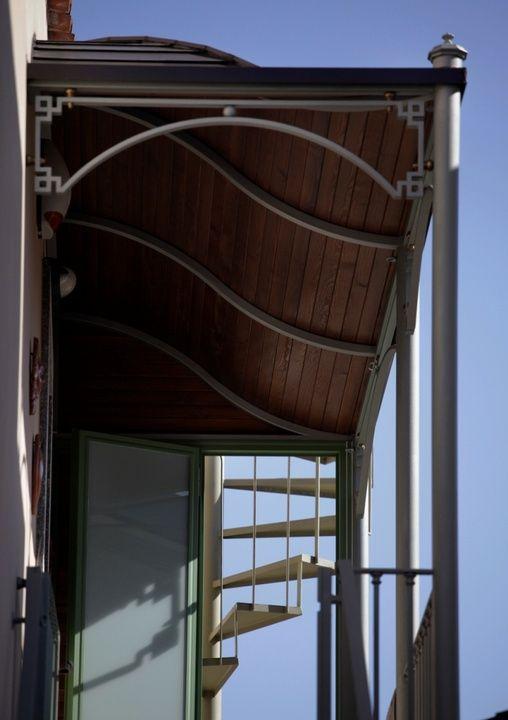 Complementi d\'arredo - Pensilina per copertura balcone | My ideal ...