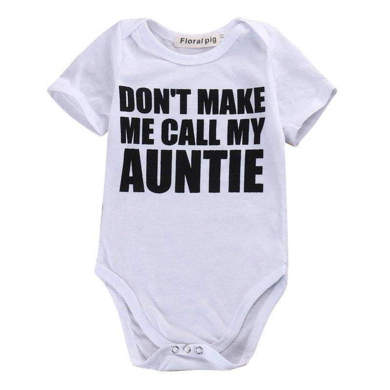 ART HUSTLE Dont Make Me Call My Auntie Baby Toddler T Shirt