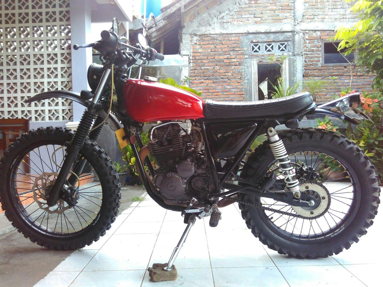 Yamaha Scorpio Scrambler Tracker Scrambler Dirt Yamaha Ssx 225