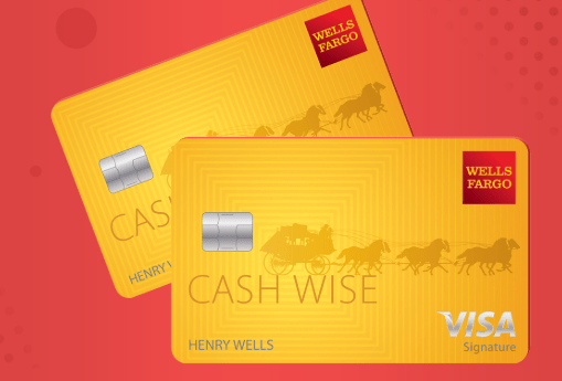 Wells Fargo Cash Wise Card offers rewards for every purchase of