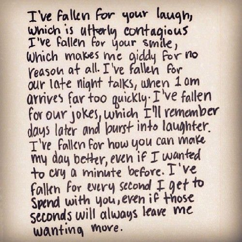 I keep falling in love with you