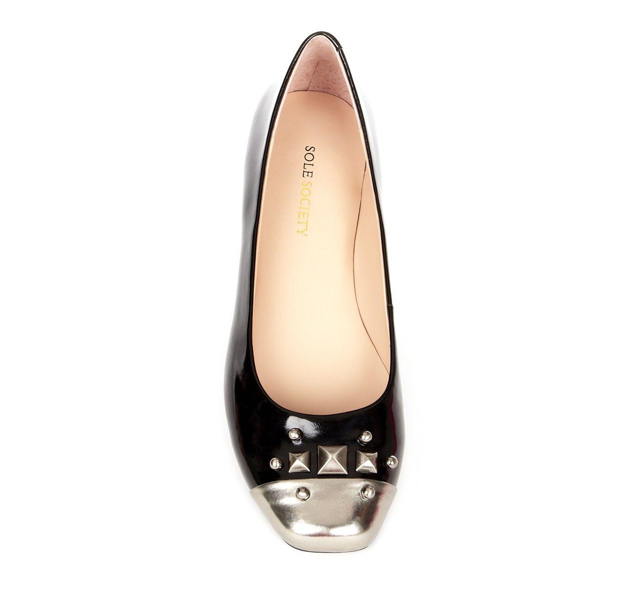 Black Steel Toe Flats   Boogie shoes