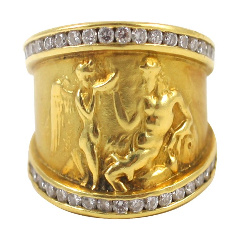 Seidengang Odyssey Diamond Band Ring