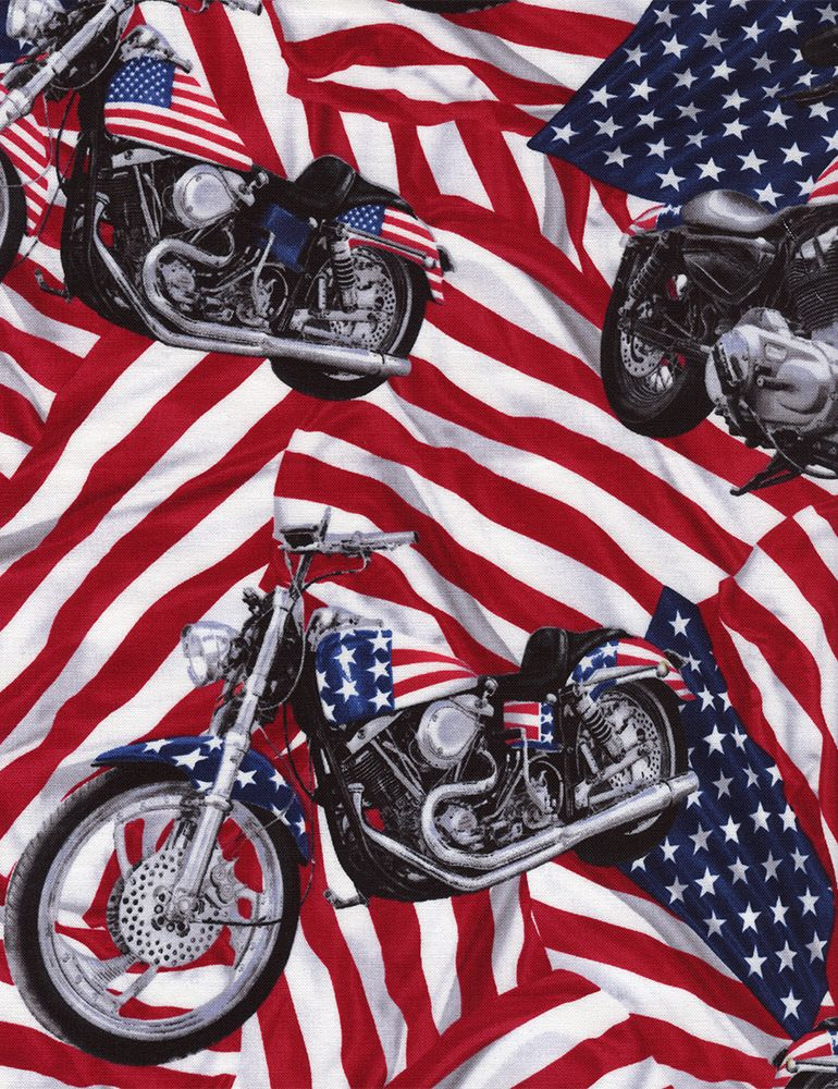 Shop Category Independence Day Product Usa Flag Bike C1595 Harley Bikes Fabric Flags Harley Davidson Fabric