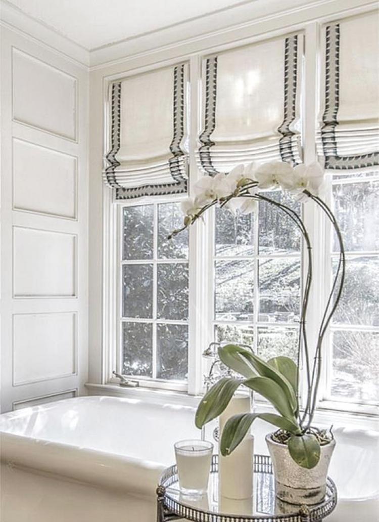 20 Beautiful Small Window Curtain For Bathroom Ideas Mebel Tirai Kursi