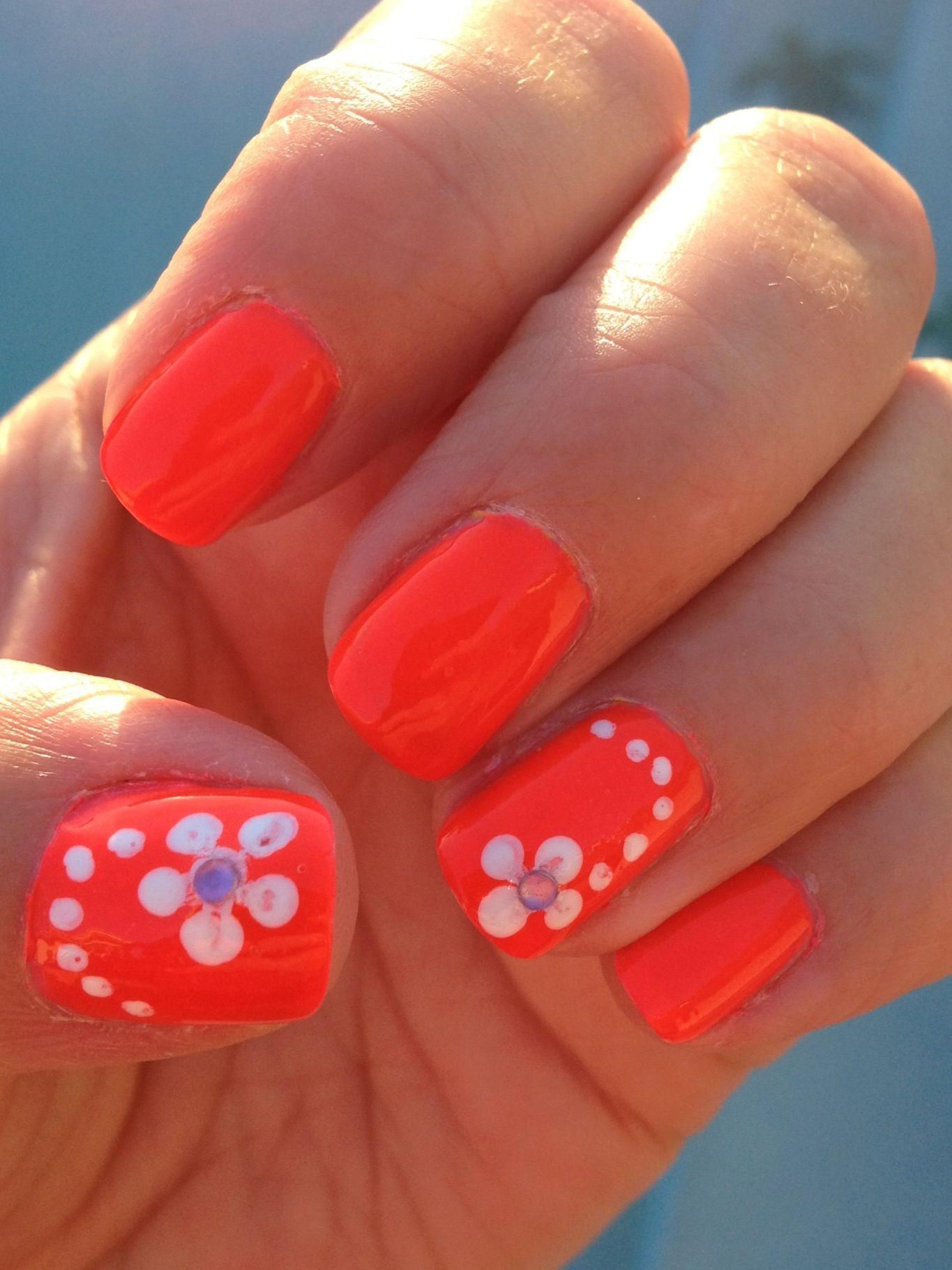 easy summer nails nail art