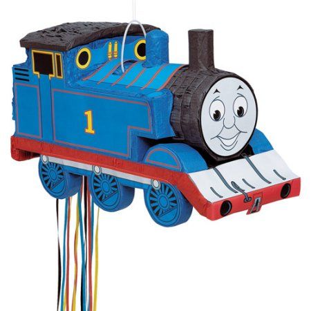 Thomas The Tank Engine Shaped Pull String Multicolor