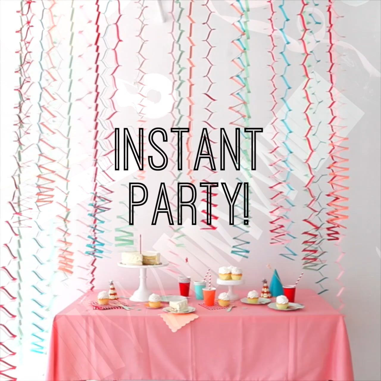 Oh Happy Day Party Hacks: Zig Zag Garlands | snowflakes | Pinterest ...
