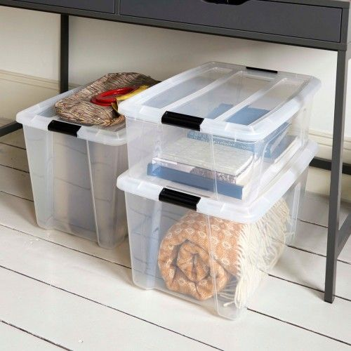 Best Clip On Lid Plastic Storage Box Plastic Box Storage 400 x 300