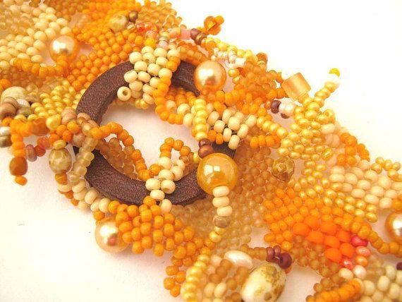 Bracelet perles graines de perles bijoux bijoux faits main du