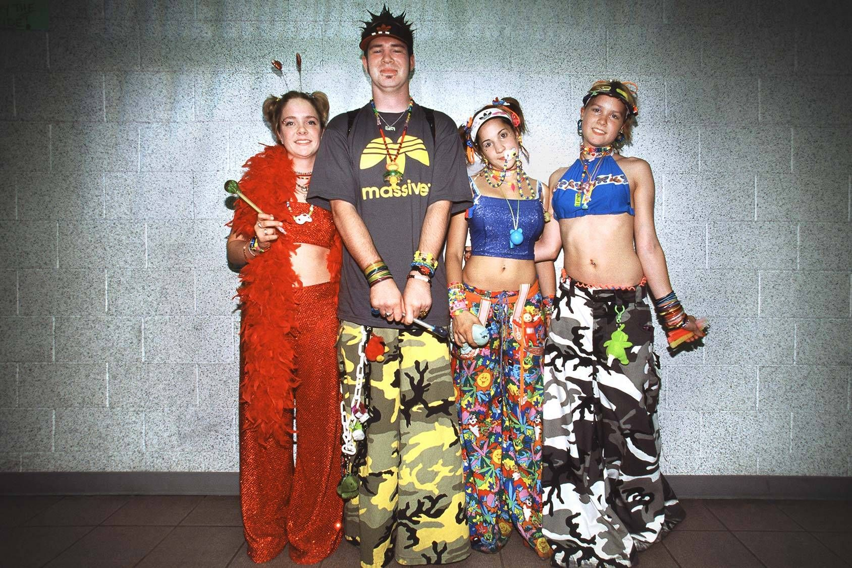 Classic Old School Ravers 6am Crew Rave Fashion Rave Culture Fashion Rave Outfits