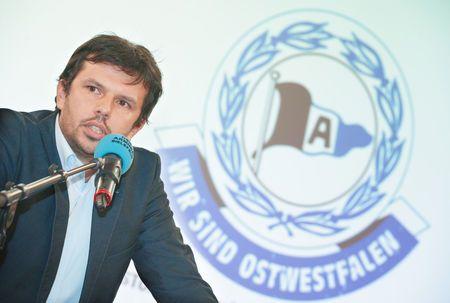 Zeitung WESTFALEN-BLATT: Arminia Bielefeld - Arabi wird deutlich