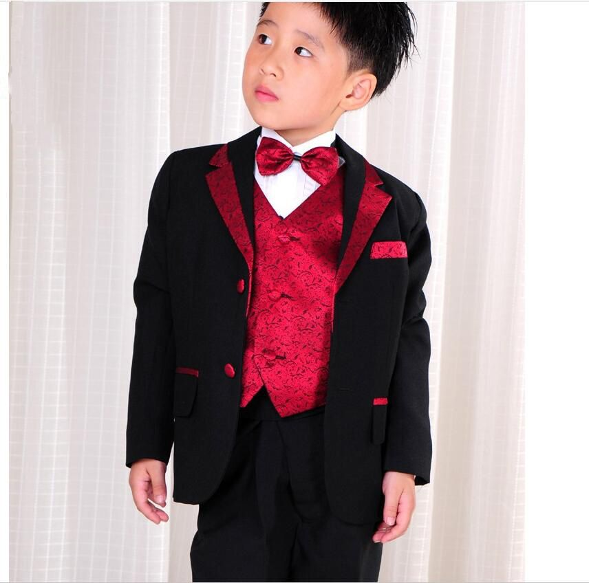 Click to Buy << Boys Blazers Kids Boy Suits for Weddings Prom Suits ...