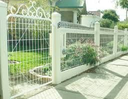 decorative woven wire fencing - Google Search   Backyard ...