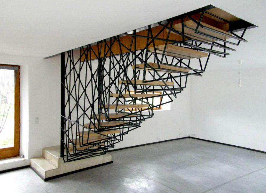 25 Staircase Designs That are Just Spectacular Staircases, Villas - escalier interieur de villa