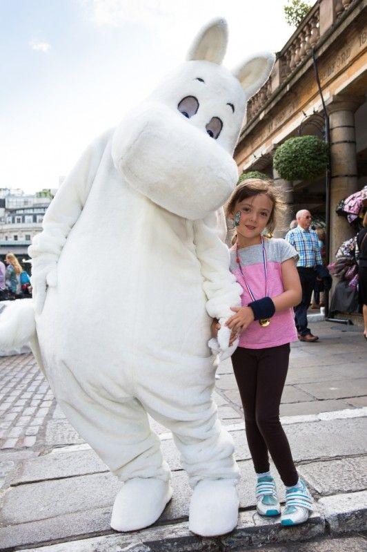 Moomins weekend in Covent Garden