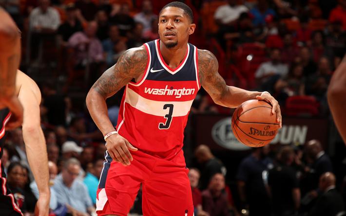 Download Wallpapers Bradley Beal 4k Basketball Players NBA Washington Wizards