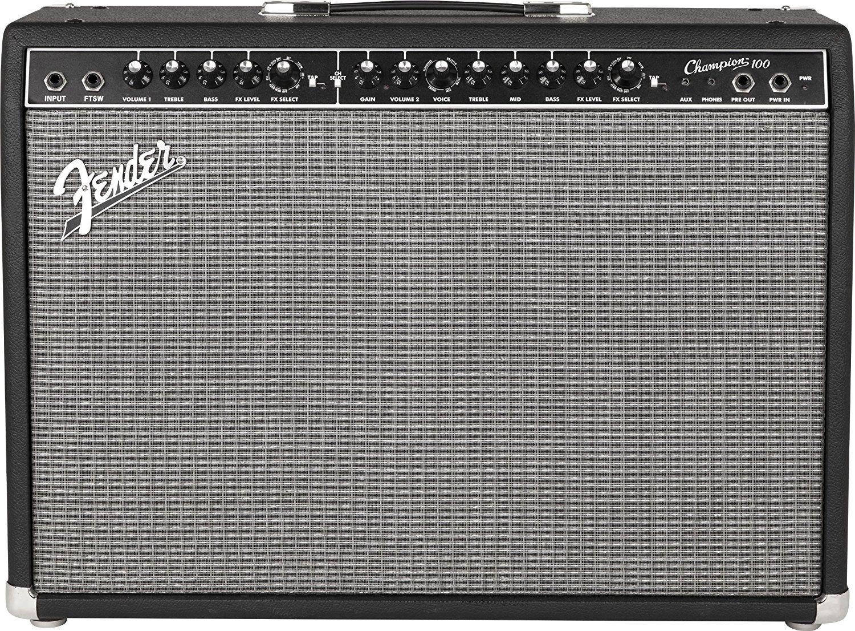 Amazon Com Fender Champion 100 100 Watt Electric Guitar Amplifier Musical Instruments Amplificador Fender Amplificador Amplificador Guitarra