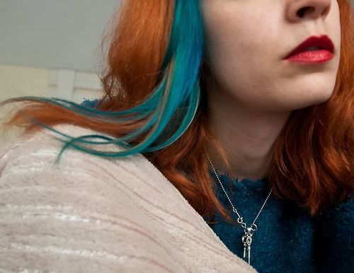 Idea By Sophie Kornilova On Blue Hair Turquoise Highlights Dyed