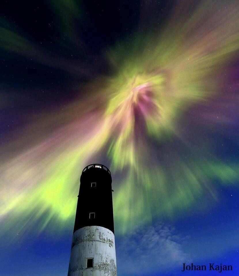 Lighthouse & Aurora in Finland