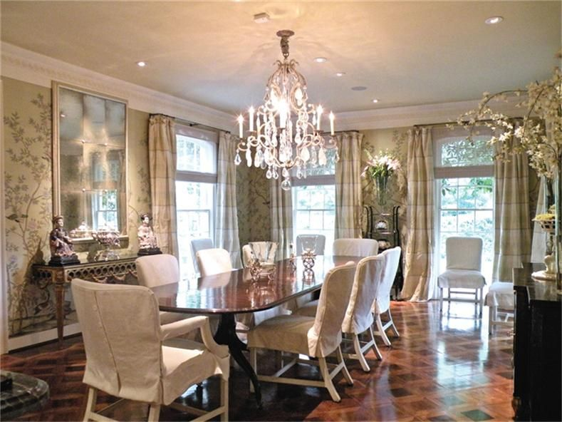 Pretty  Dining Rooms To Die For  Pinterest  Formal Dining Rooms New Formal Dining Room Curtain Ideas Inspiration